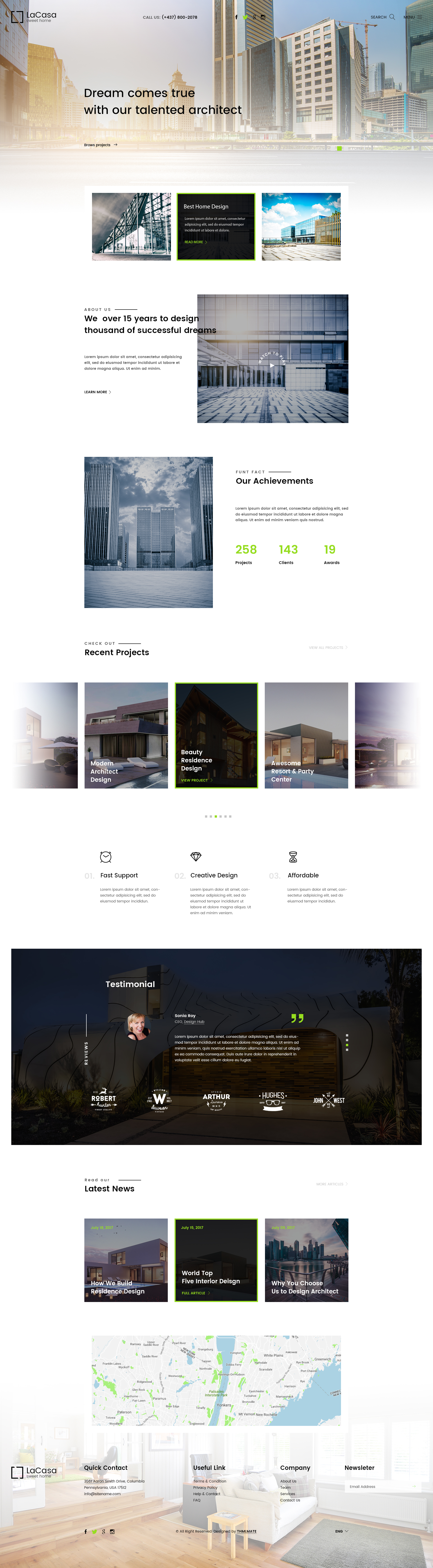 LaCasa – Real Estate HTML Template - 2